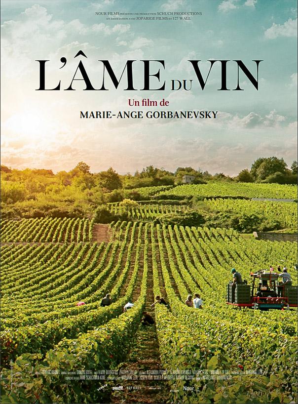Film cinéma DVD VOD L'âme du vin