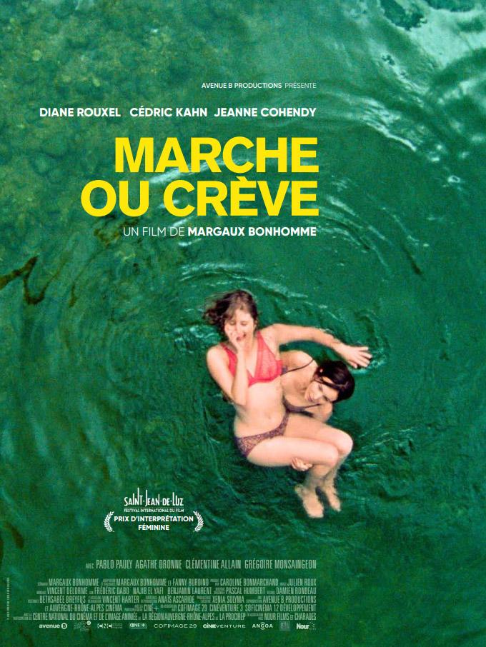 Affiche film cinéma DVD VOD Marche ou crève