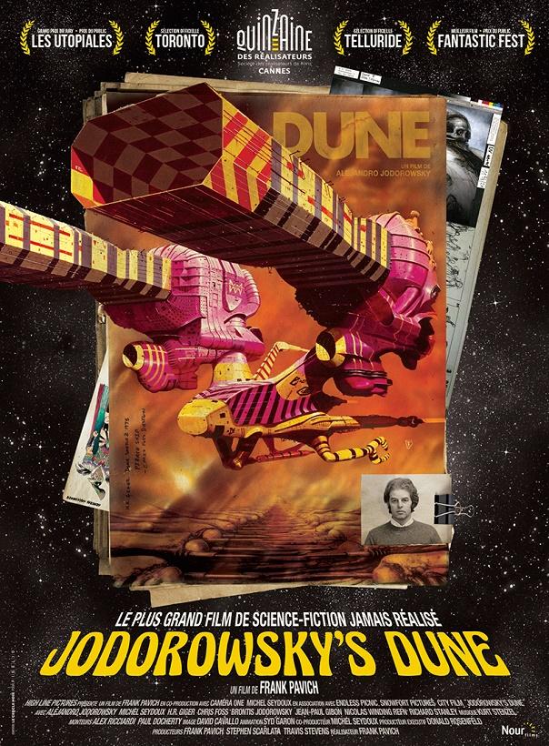 Jodorowsky Dune film documentaire cinéma affiche