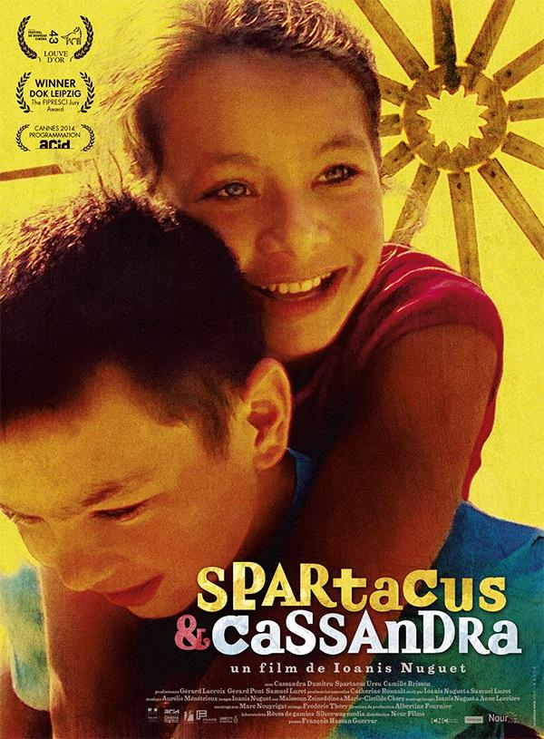 Film cinéma Spartacus & Cassandra