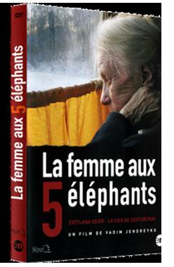 Film cinéma La Femmes Aux 5 éléphants DVD